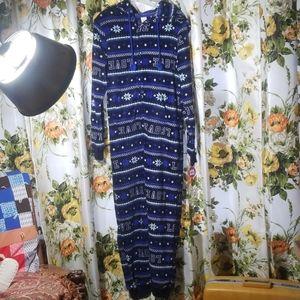 Blue LOVE onesie